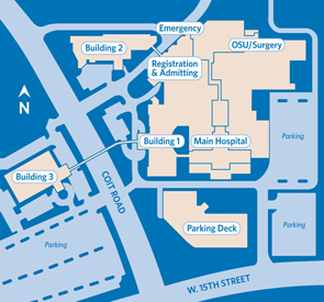 Map of Medical Center of Plano